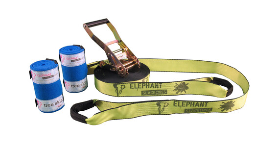 Elephant Slacklines Rookie Flash'line-Set neon